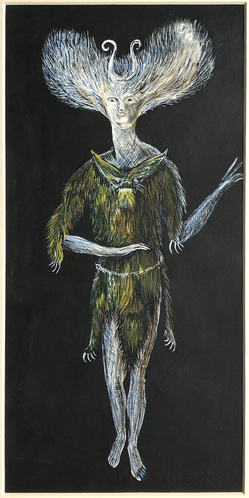 Untitled, c. 1960, Gouache on paper