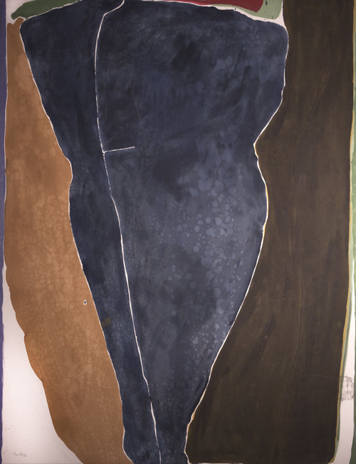 Thesis IV , 1981, Acrylic on canvas, 88.75 x 68.5 inches