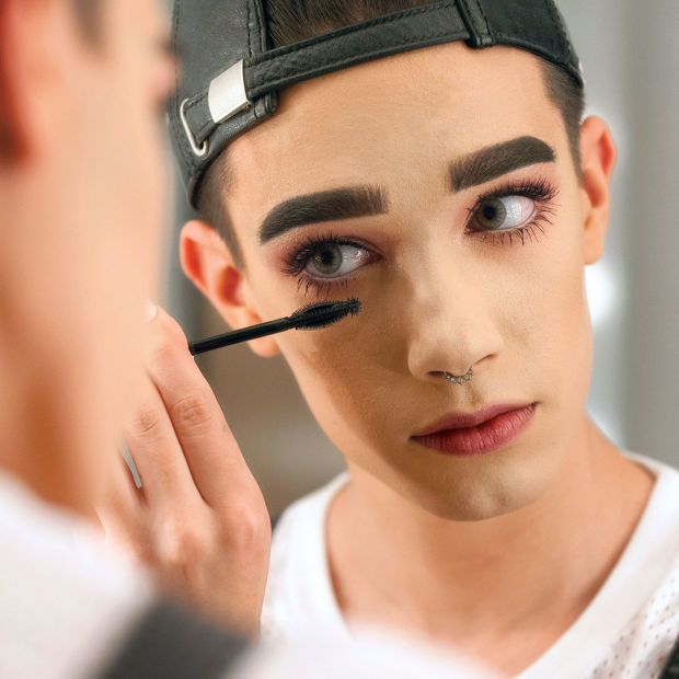 James Charles, Covergirl's newly appointed brand ambassador. Photo: Courtesy of CoverGirl