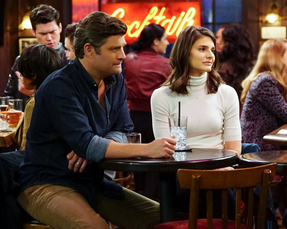 Jay R. Ferguson, left, and Lindsey Kraft play the married couple at the center of  Living Biblically.  © CBS Studios