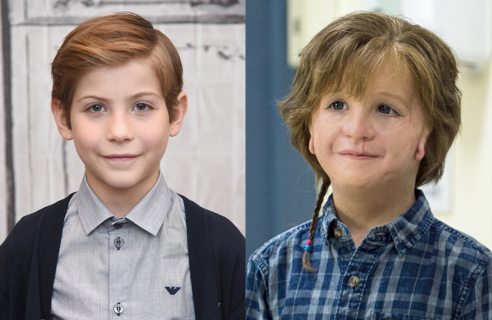 Jacob Tremblay played Auggie in  Wonder. © Lionsgate.
