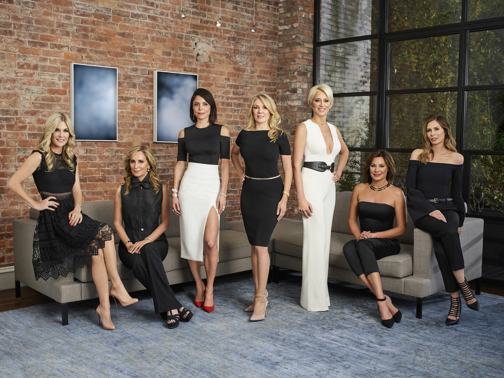 Say what you want about Bravo's  Real Housewives  franchise... but then again, maybe don't say what you want, and give it a chance instead. Above, the cast of  RHONY  s eason 10, from left to right:Tinsley Mortimer, Sonja Morgan, Bethenny Frankel, Ramona Singer, Dorinda Medley, Luann de Lesseps, and Carole Radziwill
