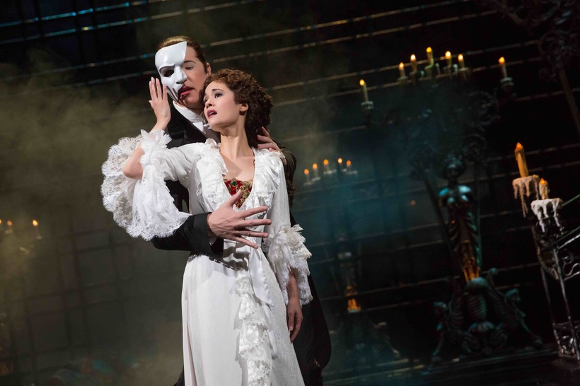 When diverse audiences see a character that look likes them on stage or screen, it matters. Above: Filipino-American actress Ali Ewoldt as Christine Daae in  Phantom of the Opera.
