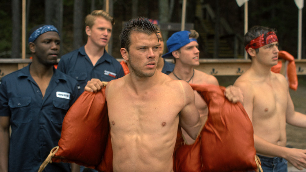 Jimmy Tatro plays Clayton Vance, the leader of the Righteous Regiment cabin in  Camp Manna. / Photo courtesy Camp Manna LLC.