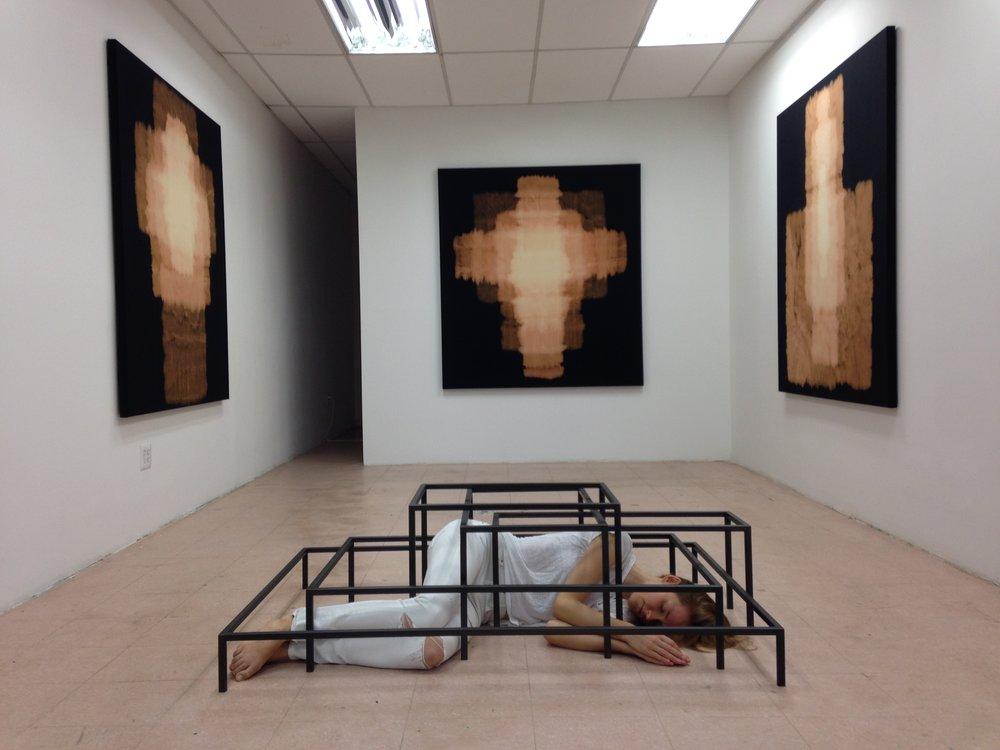 Rachel Garrard,  Vessel , 2014, Instalation view