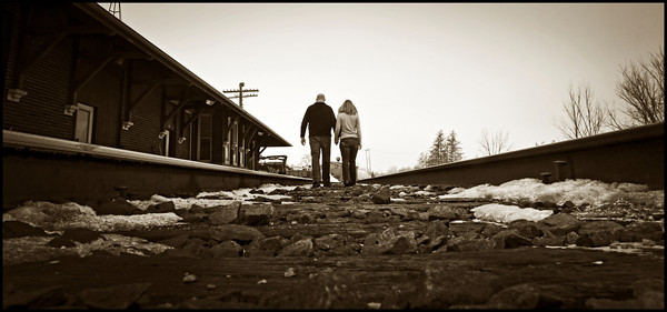 Engagements Burlington WI Train Depot