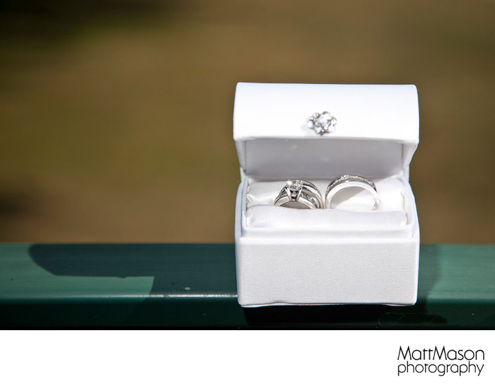 Wedding Rings at The Abbey Resort