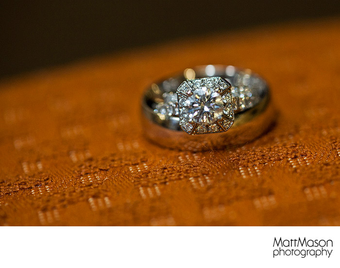 Canon 100mm macro wedding rings