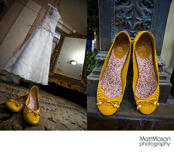 Yellow Wedding Shoes Arizona