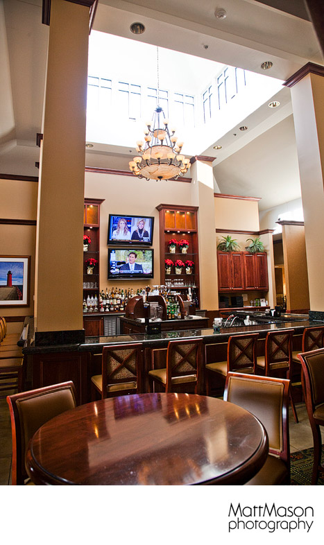 Hilton Garden Inn Milwaukee wedding venue bar area