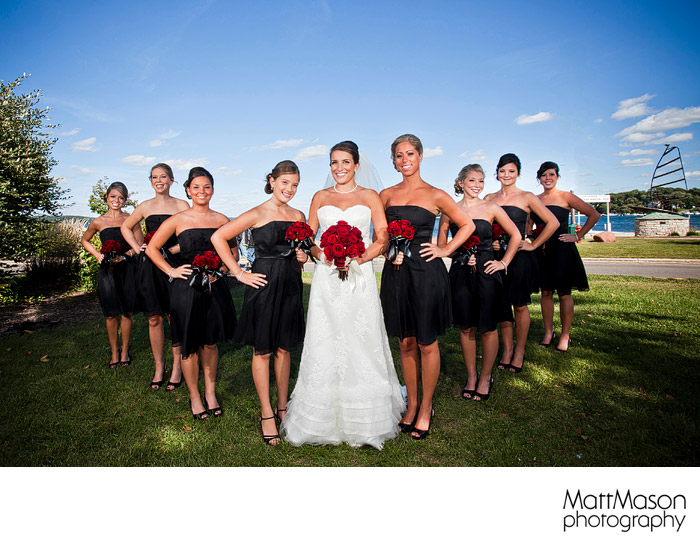 The Abbey Resort Fontana bridesmaids