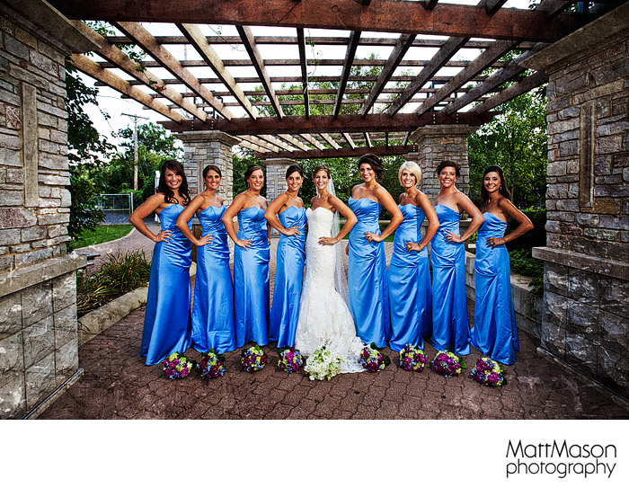 Naperville bridesmaids