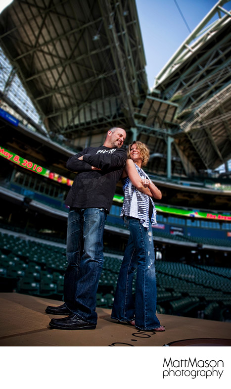 Miller Park Engagement Photos