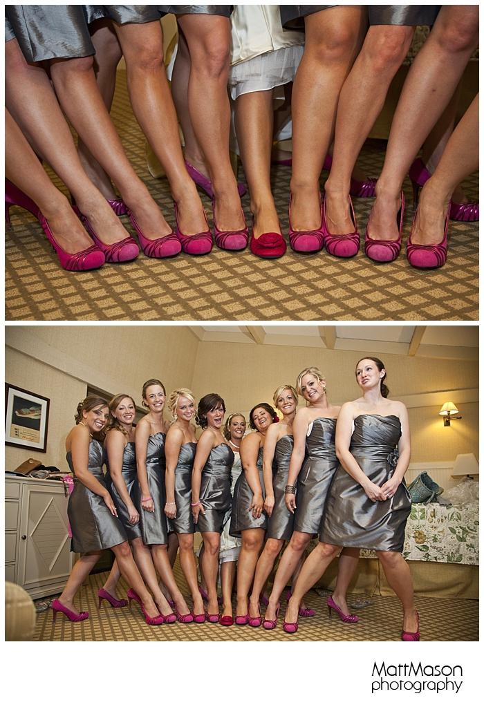 Pink Bridesmaids Shows