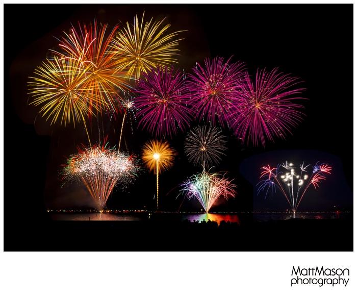 Fontana Fireworks Display
