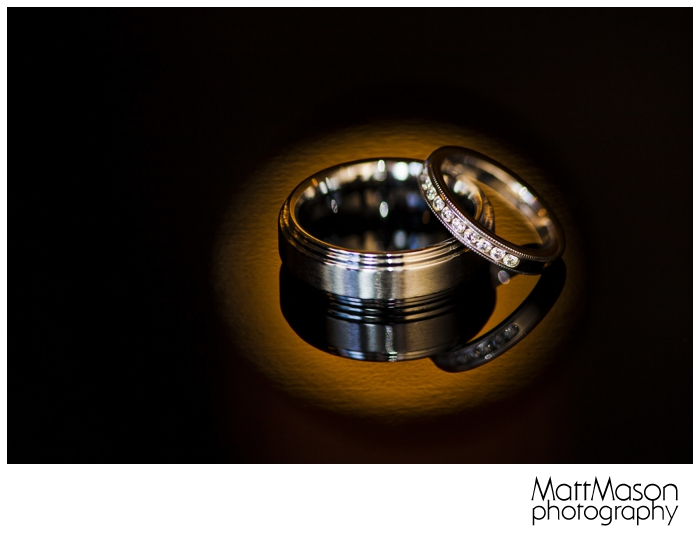 Ring shot with spotlight