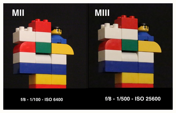Canon 5D MKII & 5D MKIII comparison photos