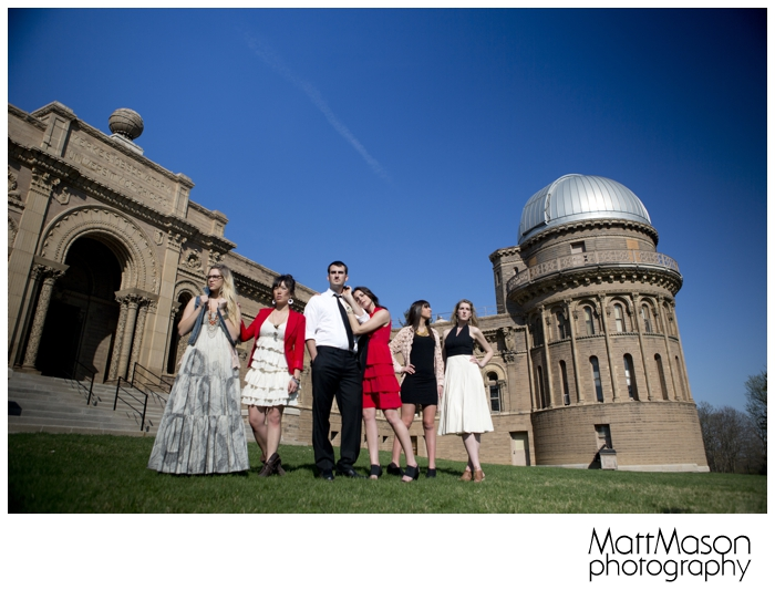 Models at Yerkes Observatory