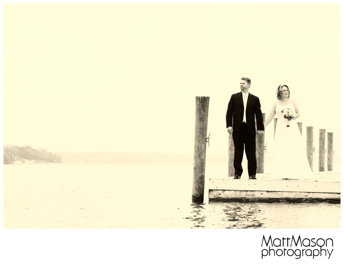 Wedding Photo on Lake Geneva