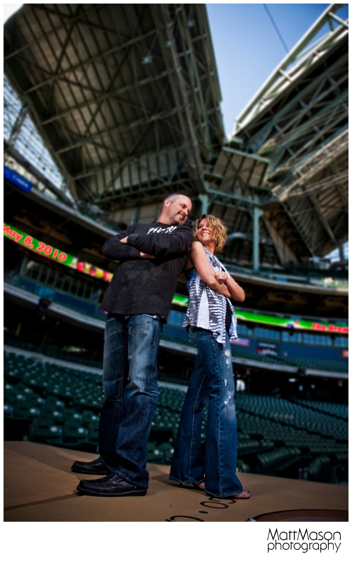 Engagement Session at Miller Park