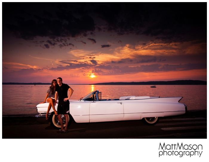 Lake Geneva Sunset Engagement Session