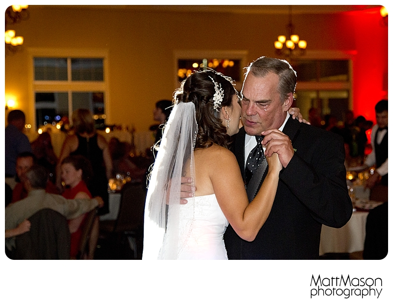 A Father's Tears, Father Daughter Dance, Matt Mason Photography