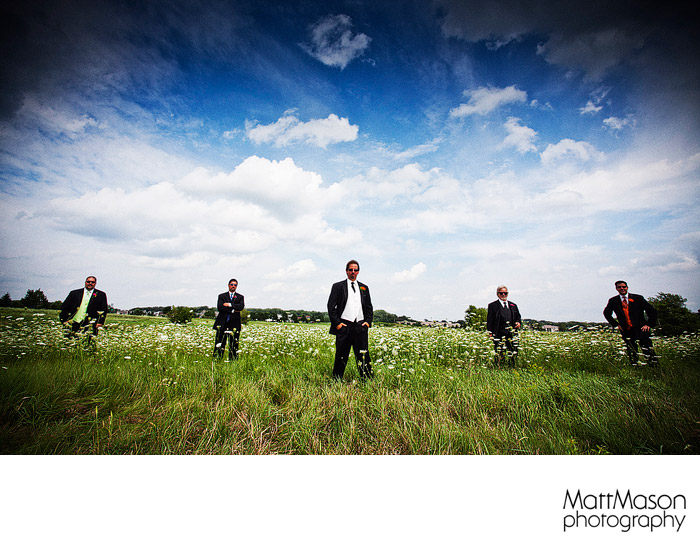 Album Cover groomsman