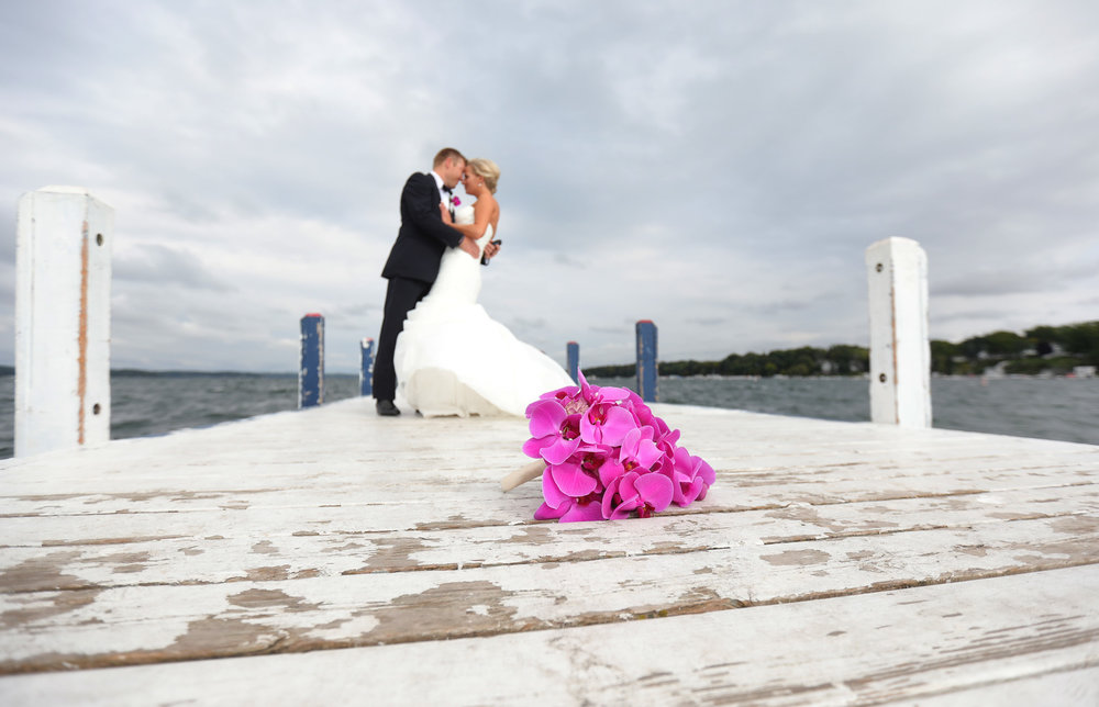 Krissy + Erick at Lake Geneva Cruiseline (September 23, 2016)