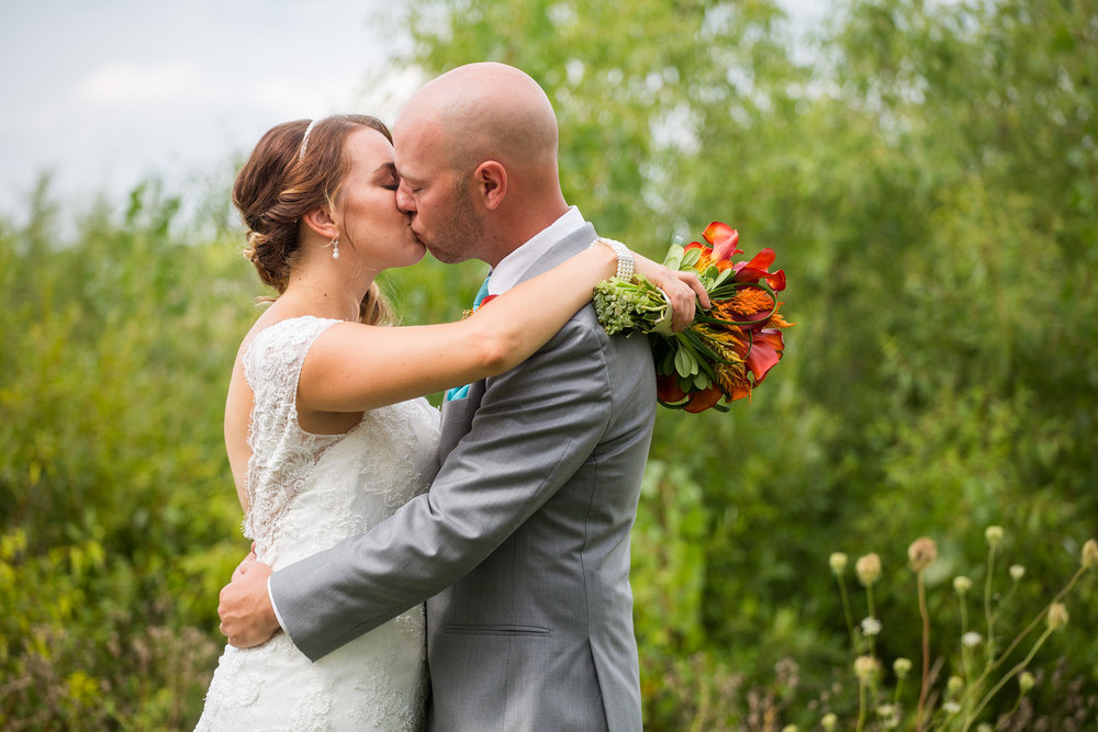 Jenni + Chris at Evergreen Country Club (August 27, 2016)