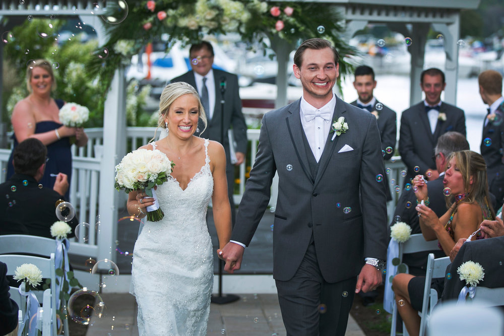 Kara + Nick at The Abbey Resort (August 27, 2016)