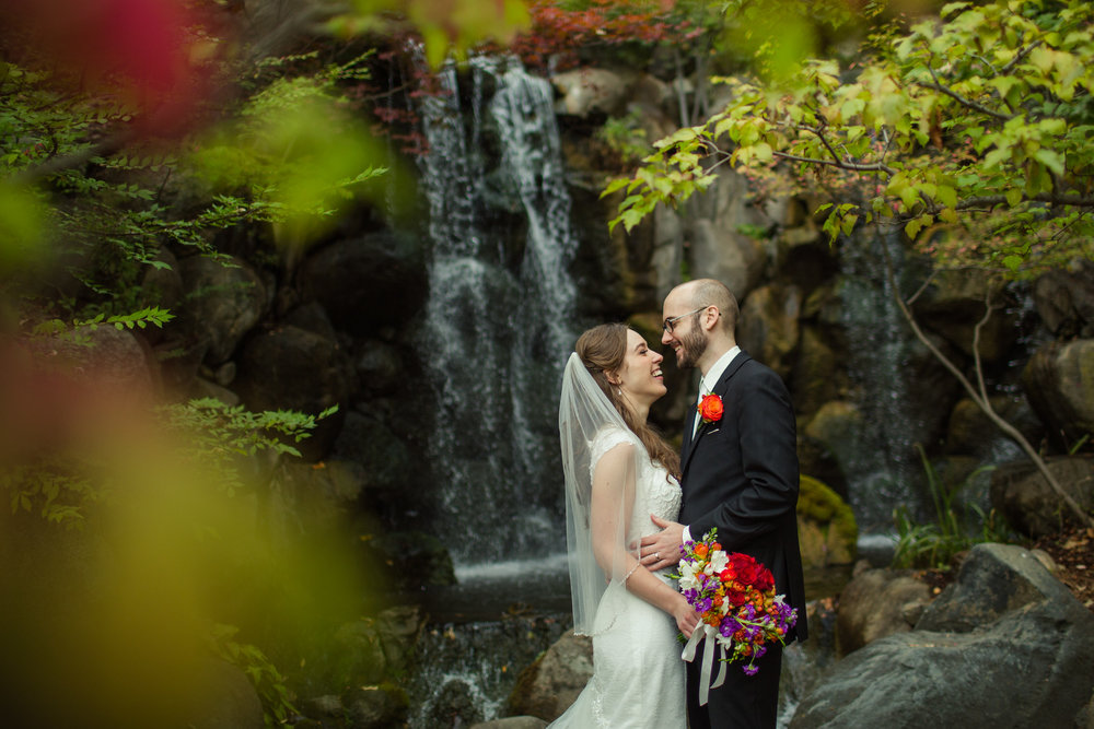 Caitlin + Nik at the Anderson Japanese Gardens (Oct. 3, 2015)