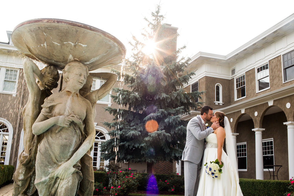 Becky + Kevin at the Lehmann Mansion (September 5, 2015)