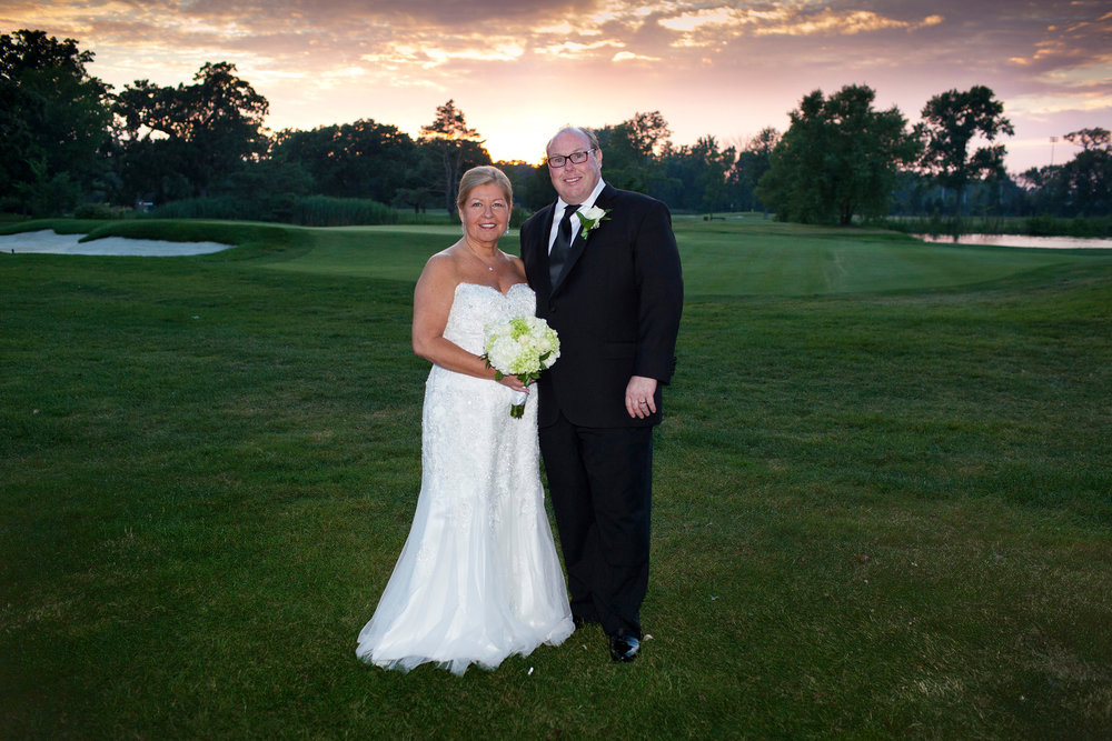Susan + Jon at Oak Park Country Club (8/8/15)