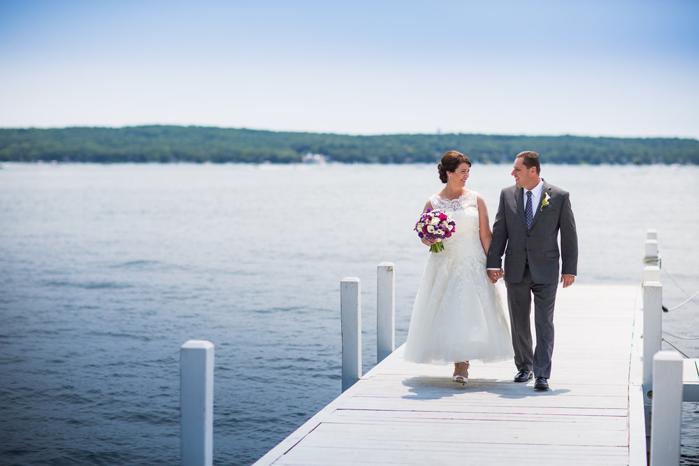 Kathy + Mark at the Abbey Resort (July 2, 2015)
