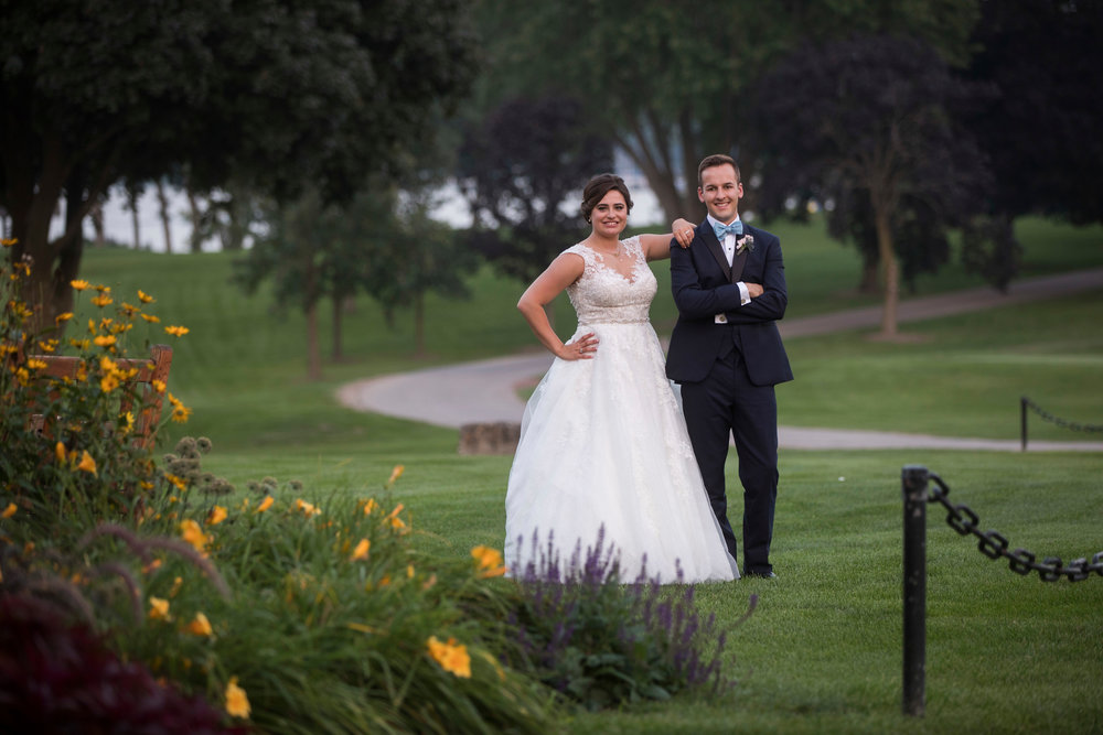 Caroline + Chris at Lake Geneva Country Club (August 25, 2018)