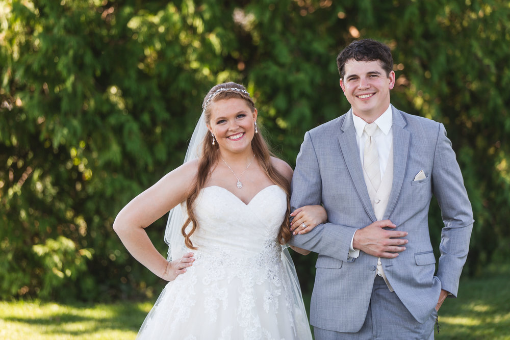 Karli + Tim at Evergreen Country Club (September 15th, 2018)
