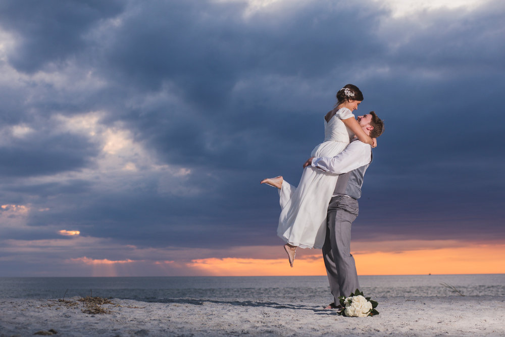 Abby & Rob at Captiva Island (November 18, 2018)
