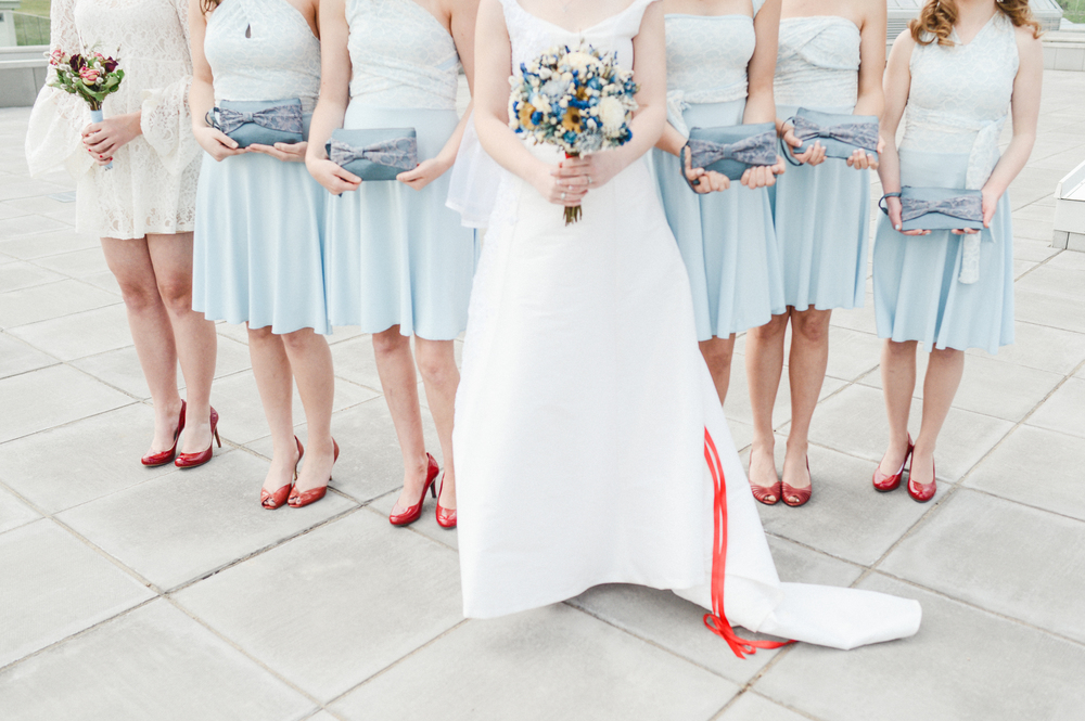 and red shoes, because life is too short!Photo credit: Clara Cecilia Photography