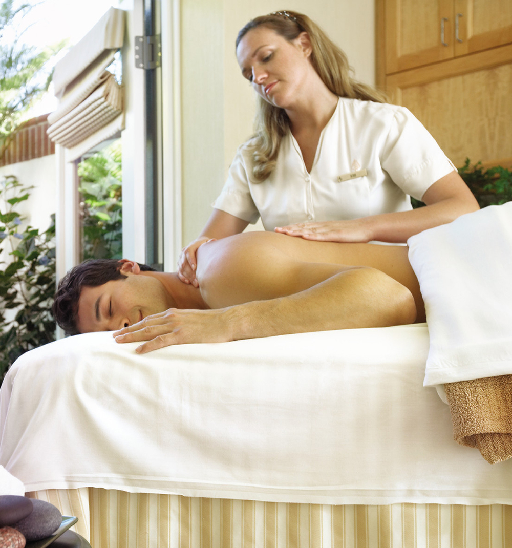 Massage Treatment in the Spa