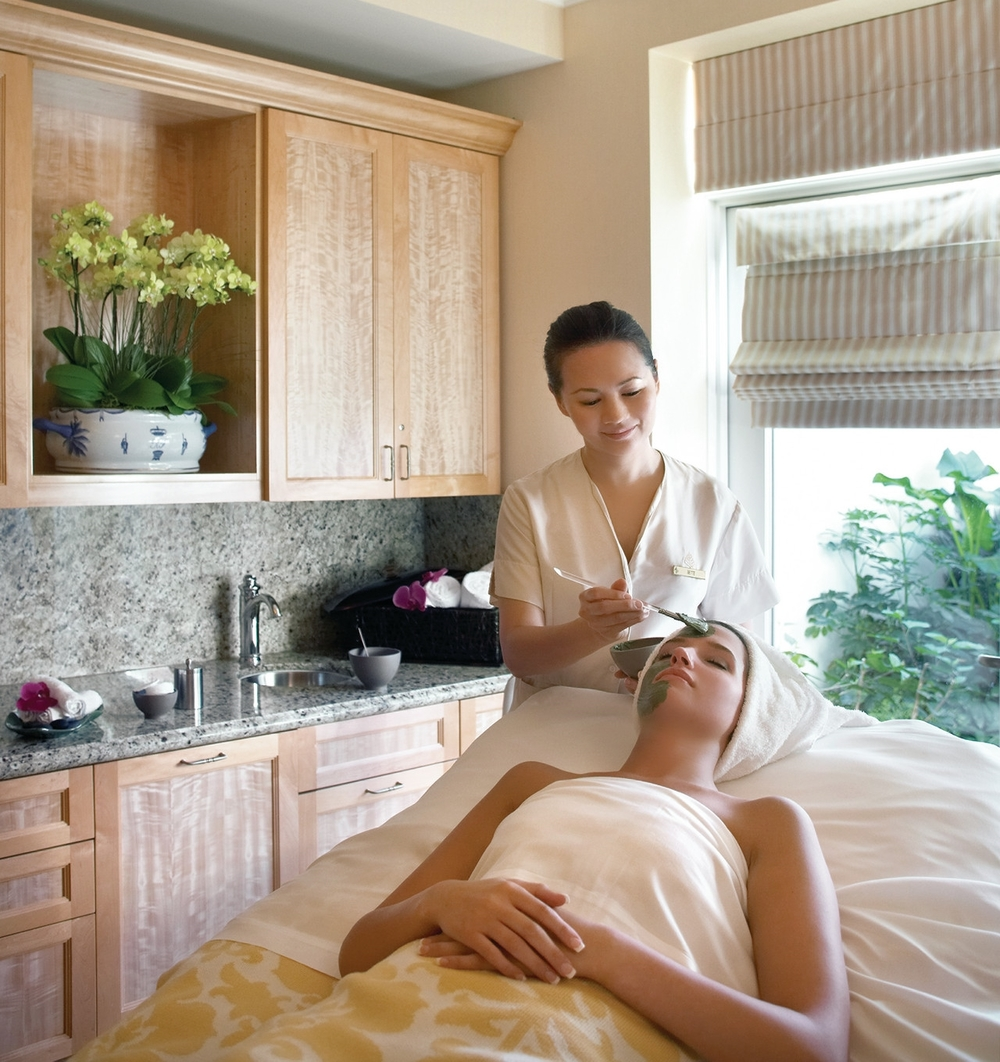 Facial Treatment in The Spa
