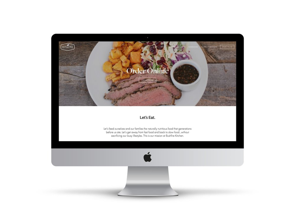 Bushfire Kitchen Website
