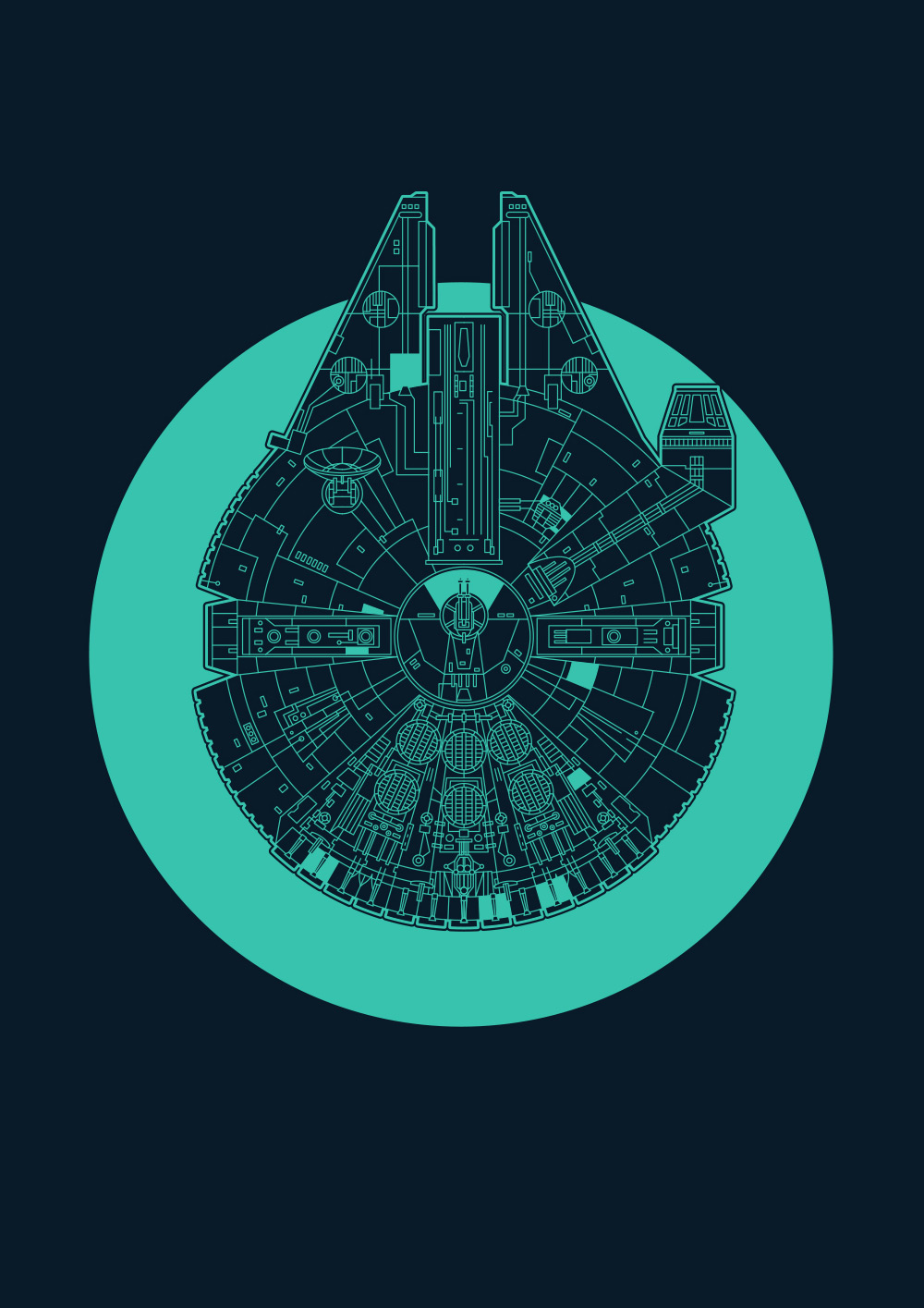 Starships: Millennium Falcon