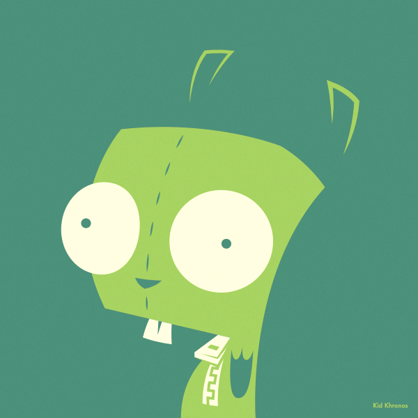 Backup: GIR – Invader Zim