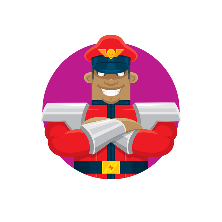 Street Fighters: M. Bison