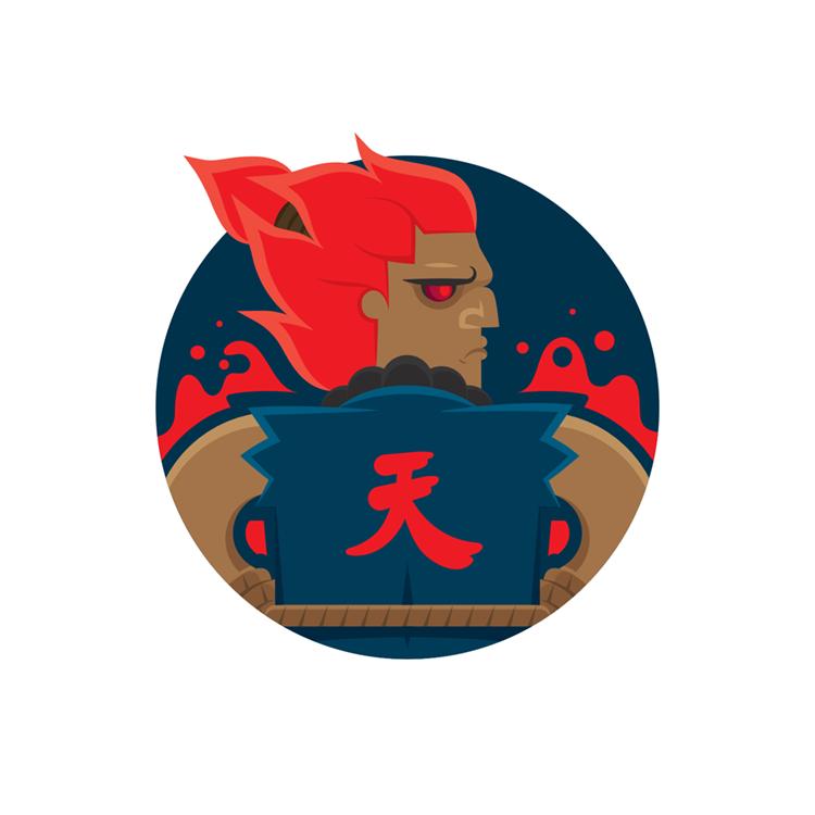 Street Fighters: Akuma