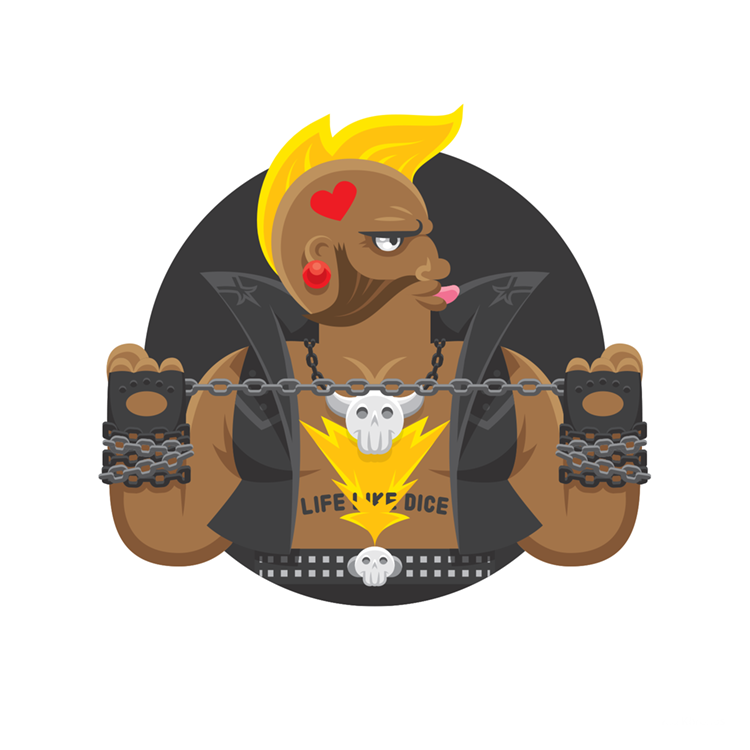Street Fighters: SFV Birdie