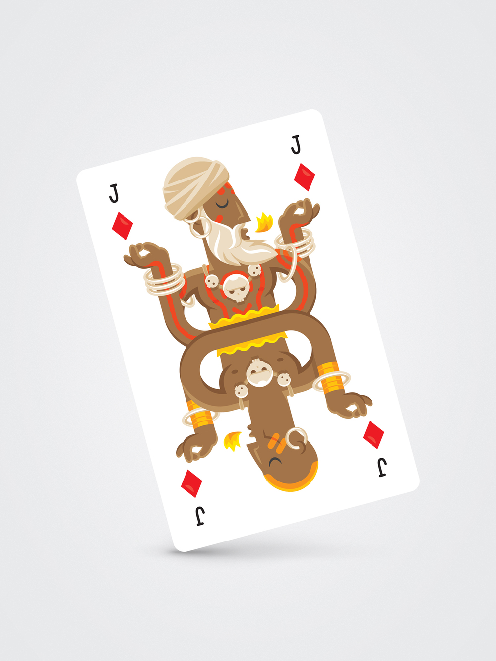 Dhalsim – Jack of Diamonds