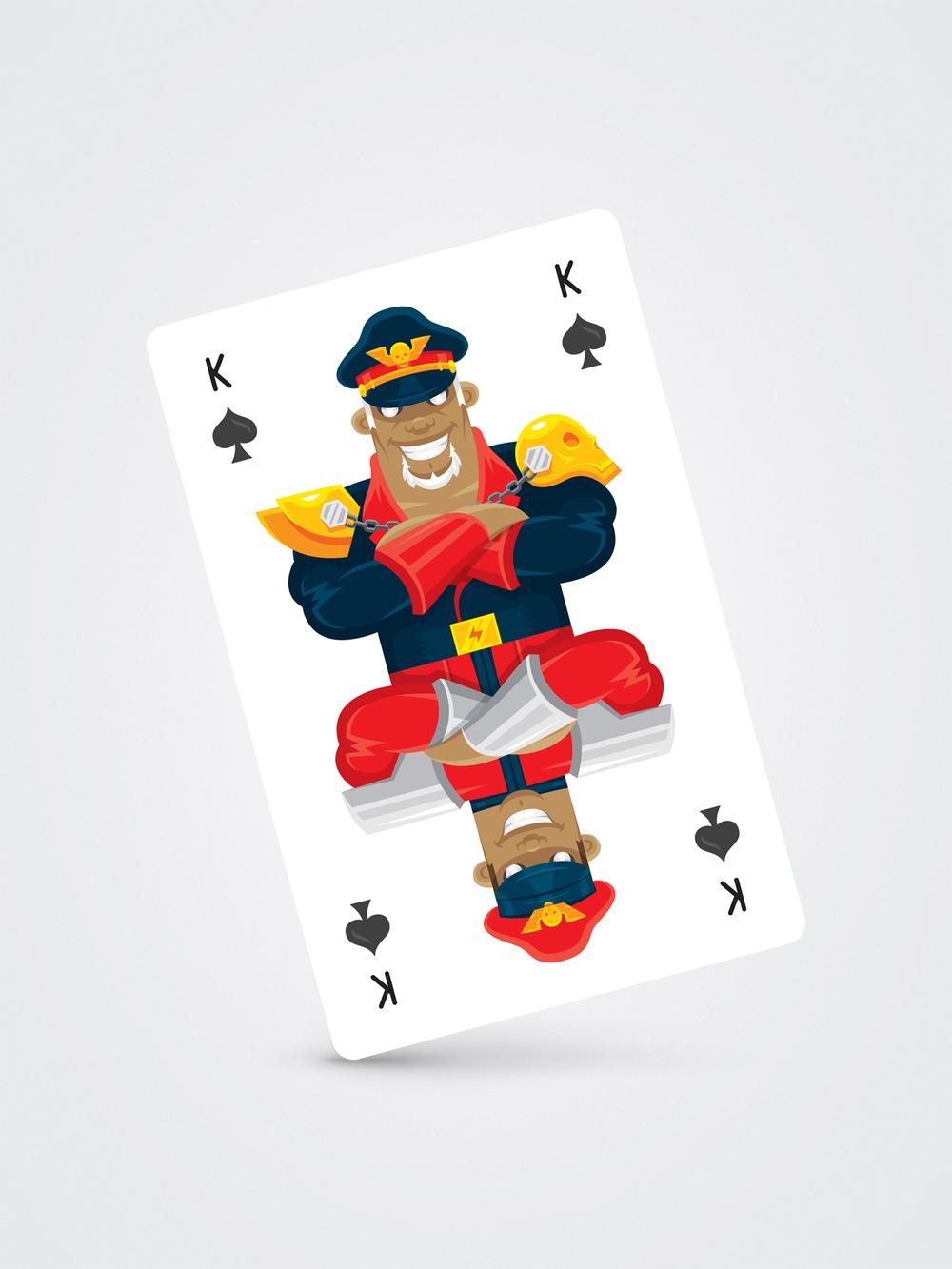 M. Bison – King of SPades