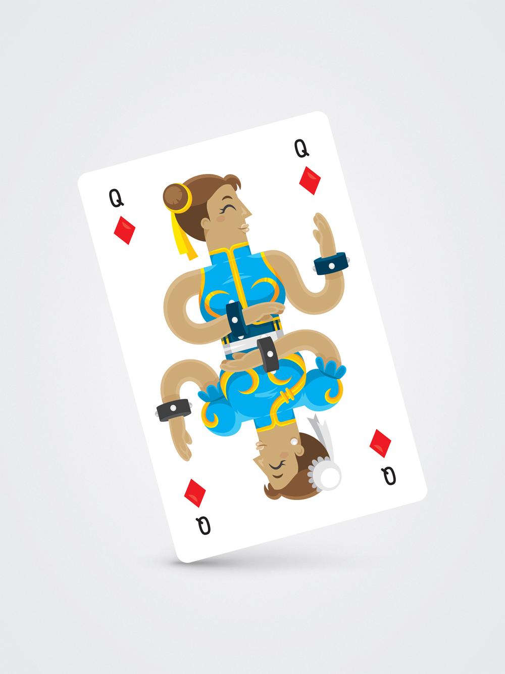 Chun Li – Queen of Diamonds