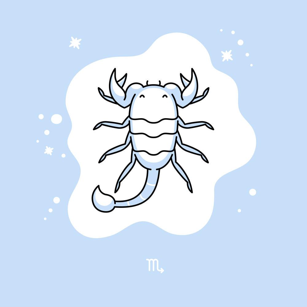 ... A scorpion.